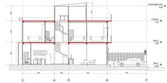 Thiết kế xây nhà a dũng Quận 9