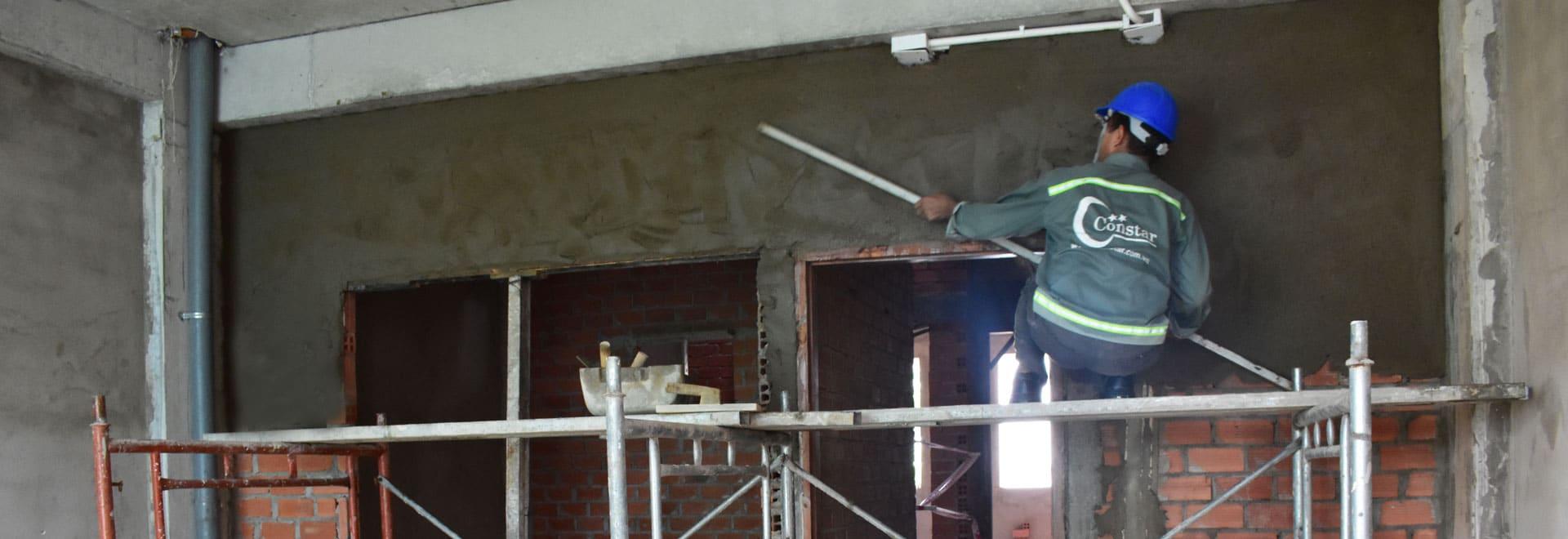 Chất lượng thi công xây dựng nhà đảm bảo.