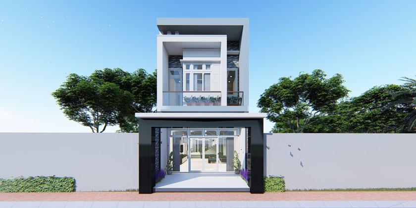 Chi phí xây dựng phần thô nhà 2 tầng 80m2