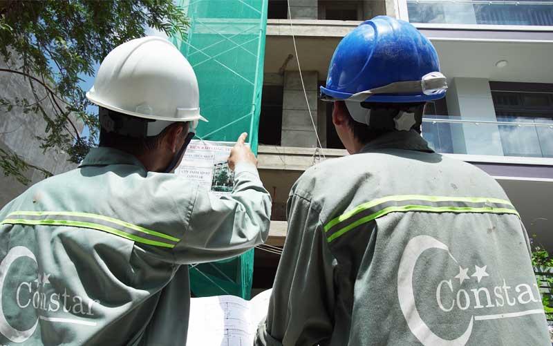 Hỗ trợ xây nhà phần thô tận tâm