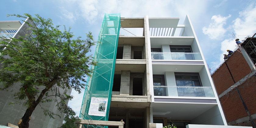 Hoàn thiện nhà đã xây thô tại KĐT Van Phúc, TpHCM.