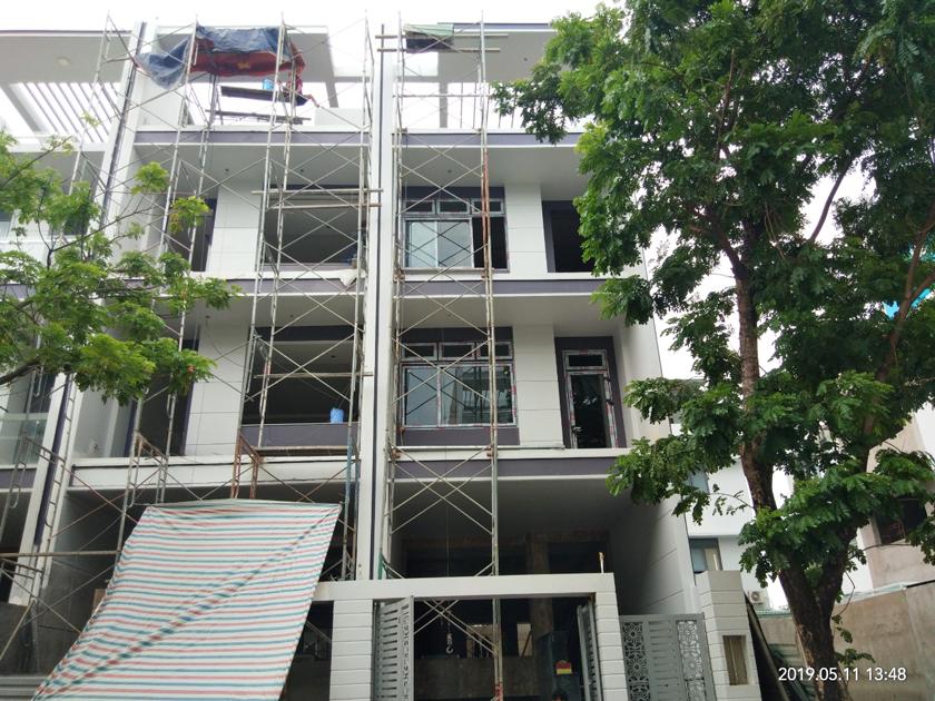 Xây dựng nhà 4 tầng trọn gói Quận Thủ Đức.