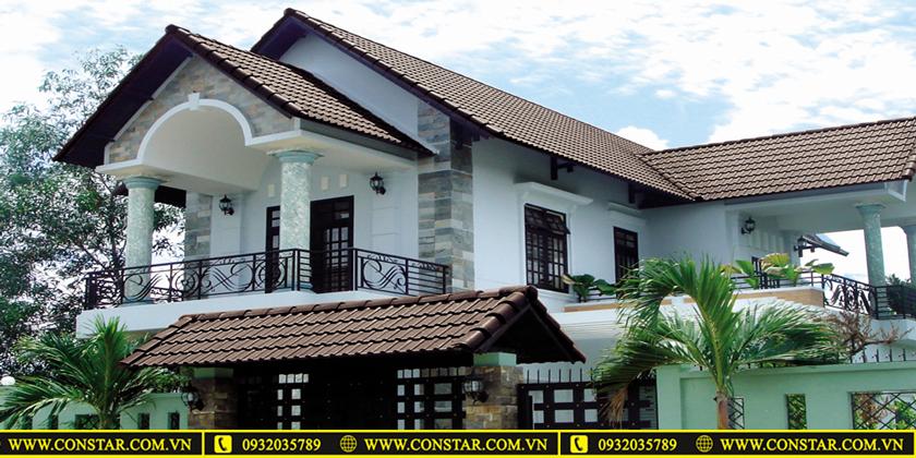 Thiết kế xây dựng nhà mái thái tại TpHCM