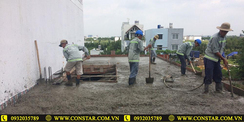 Công ty xây dựng nhà ở phần thô và hoàn thiện tại Biên Hòa.