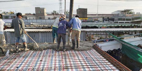 Công ty thiết kế xây dựng nhà phố 2 tầng tại Thuận An.