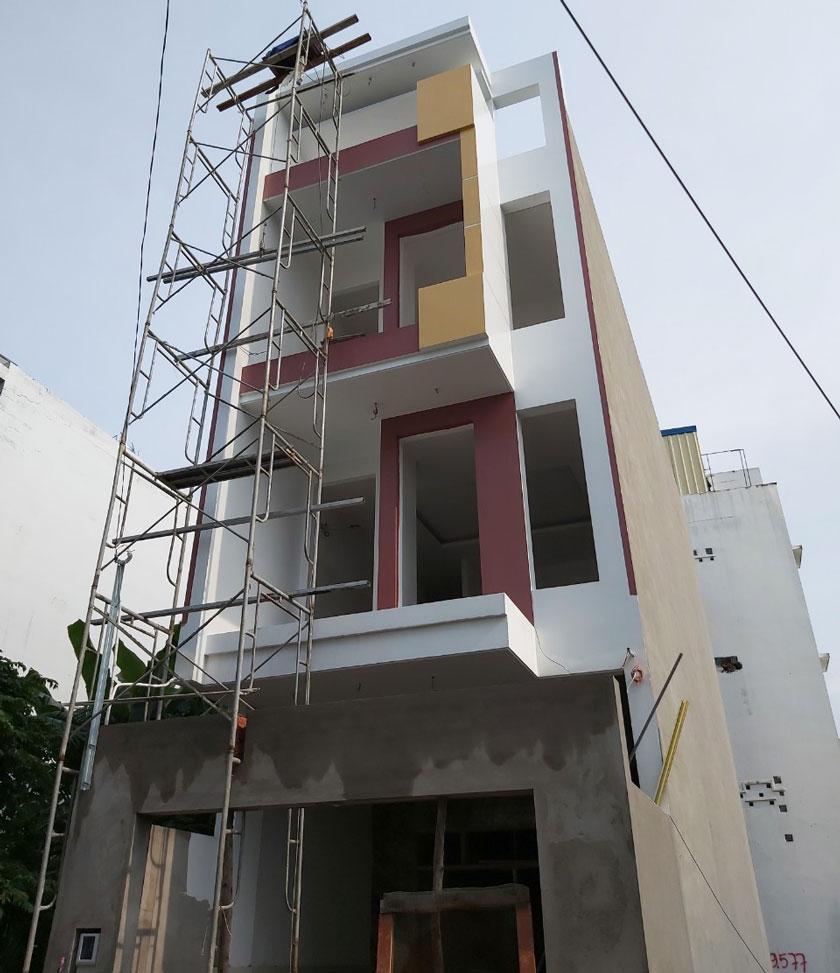 Thi công xây dựng nhà phố tại Quận Thủ Đức, TpHCM.