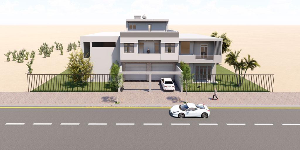 Thiết kế xây nhà ở kết hợp kinh doanh tại Thuận An