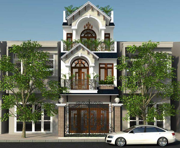 Mẫu thiết kế xây nhà 3 tầng trọn gói Quận Thủ Đức.