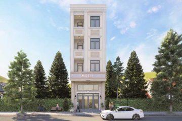 Xây dựng phần thô nhà phố 4 tầng tại Bình Chiểu, Quận Thủ Đức.