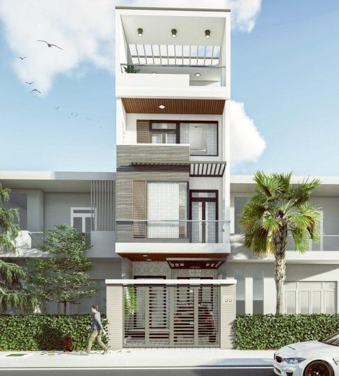 Thiết kế xây dựng nhà ở KDC Long Hưng Biên Hòa.