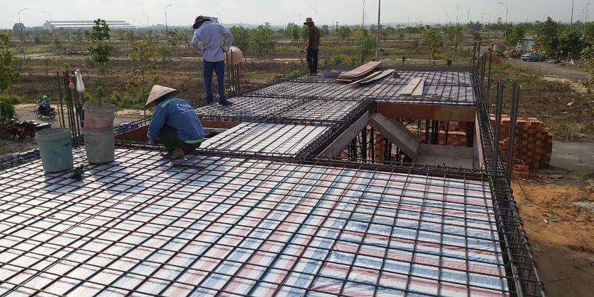 Xây dựng phần thô nhà ở Biên Hòa Đồng Nai.