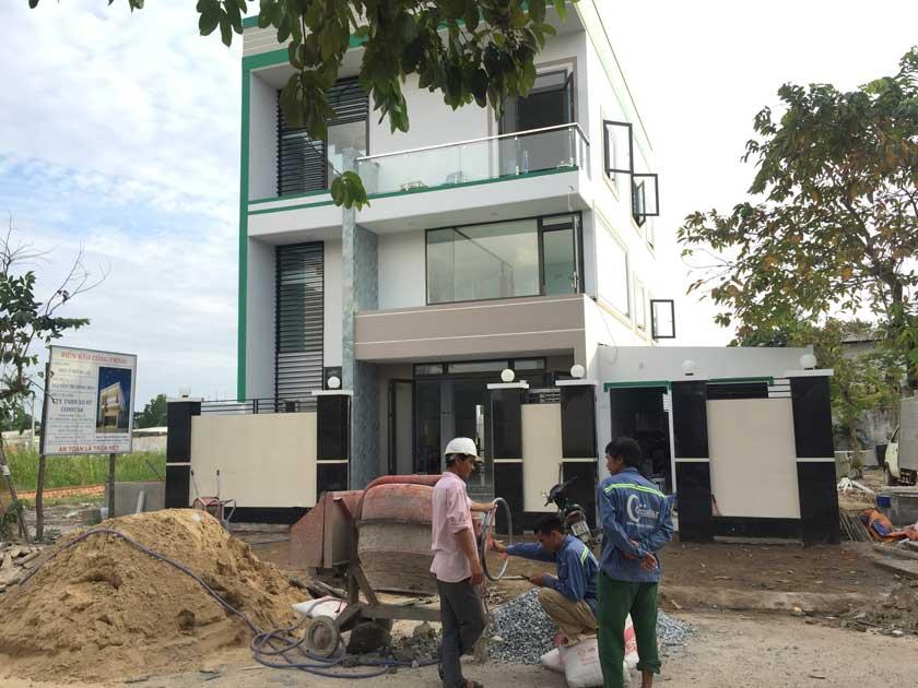 Thiết kế xây dựng nhà biệt Thự Quận Thủ Đức.