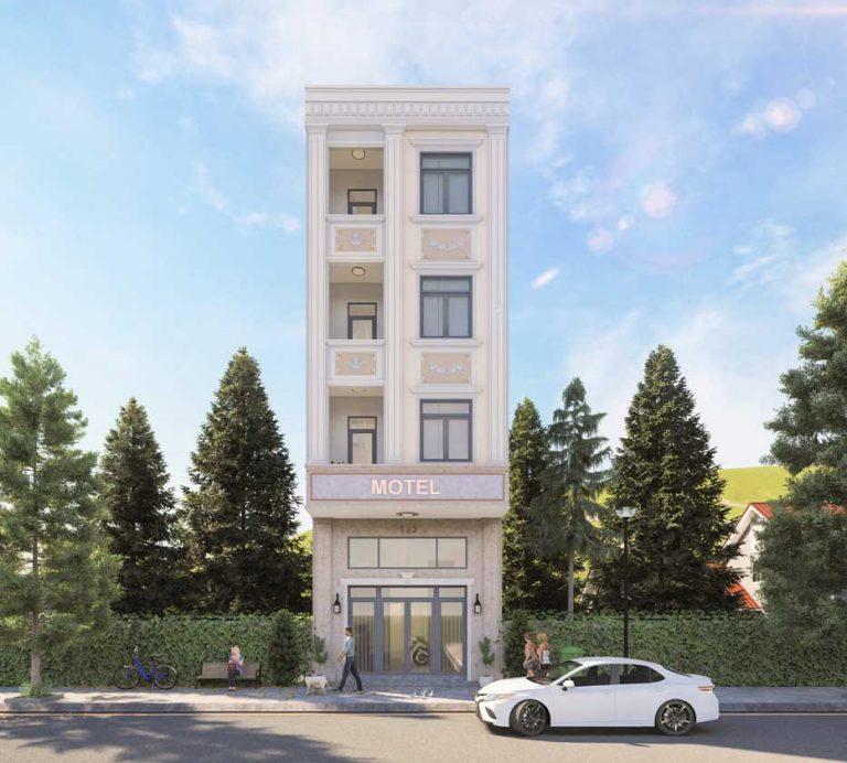 Mẫu thiết kế xây nhà 1 trệt 3 lầu trọn gói Quận Thủ Đức.