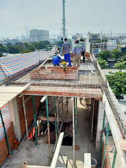 Thi công xây nhà ở Phường 11 Quận Bình Thạnh