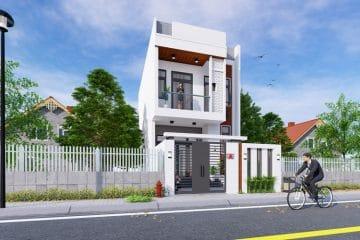 Thiết kế nhà 2 tầng tại Phường Trường Thạnh Quận 9.