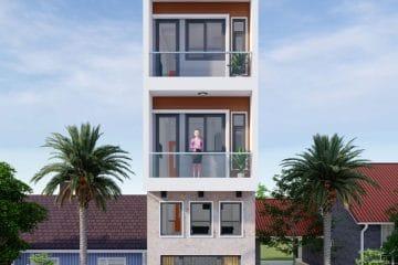 Thiết kế xây dựng nhà ở tại Phường 1 Quận Bình Thạnh.