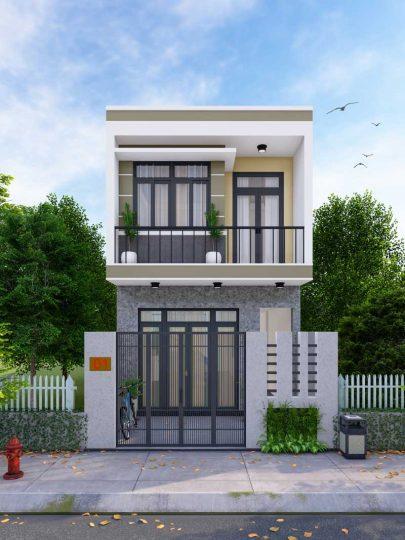 Thiết kế xây dựng nhà ở tại Visip 2 Bình Dương.