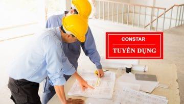 Tuyển dụng kỹ thuật xây dựng và thiết kế nội thất năm 2021